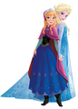 Anna and Elsa together - disney-princess photo