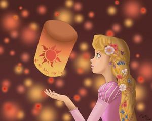 rapunzel lanterns