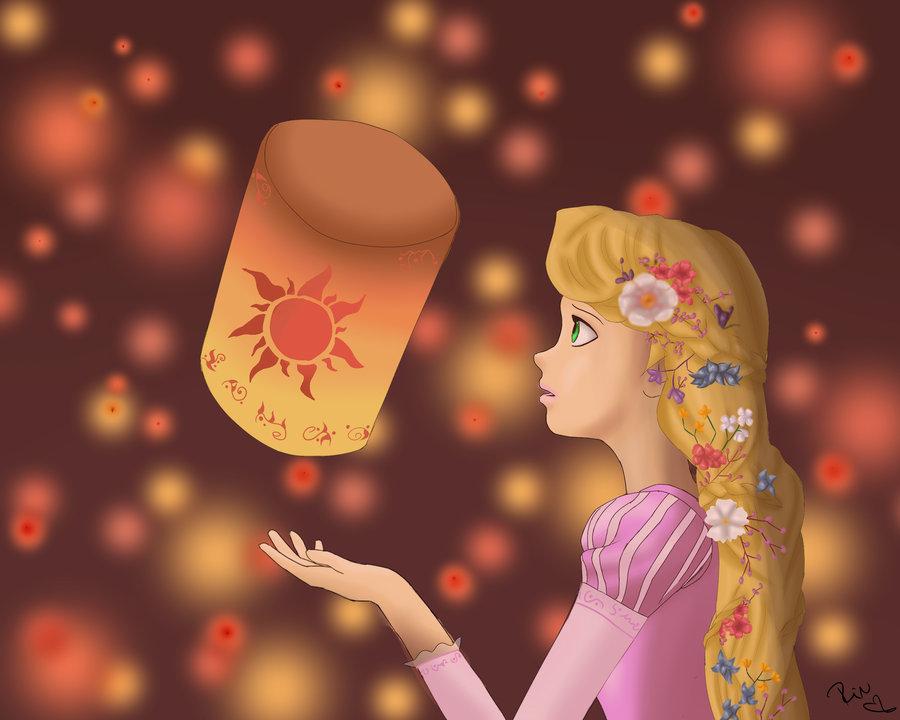 Rapunzel Lanterns Disney Princess Photo 36209911 Fanpop