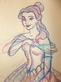Lady Belle - disney-princess fan art