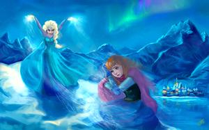 Frozen - Uma Aventura Congelante Fanart