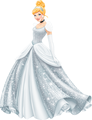 Cinderella's Redesign with her Actual Colors - disney-princess fan art