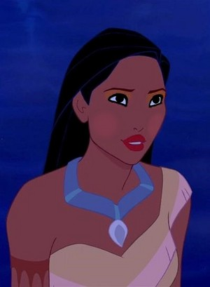pocahontas' confrontation look