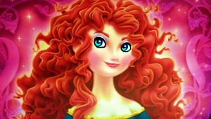 merida's girly look