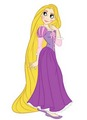 rapunzel's doubled-up look - disney-princess photo