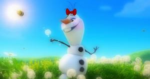 Olaf Makeup संपादन करे