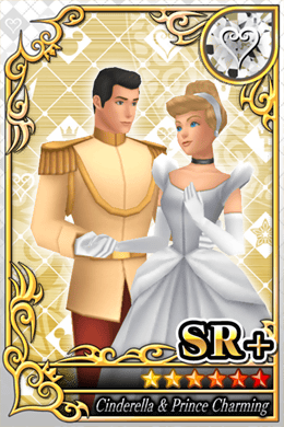 cinderella Cards in Kingdom Hearts X