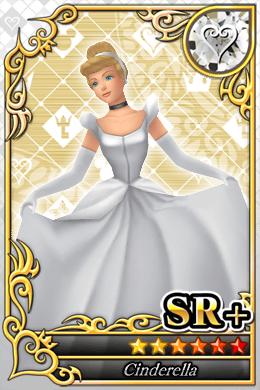 Aschenputtel Cards in Kingdom Hearts X