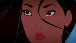 Pocahontas With Black Eyebrows