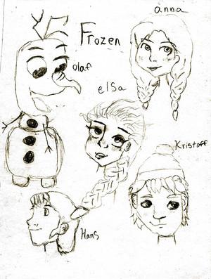 Frozen Sketches