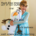 MUCH ELSA IMPOSTER AND PERVY OLAF?! - disney-princess photo