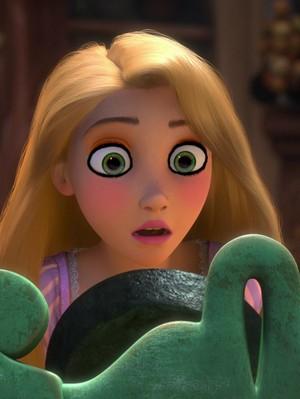 rapunzel's eyeing look