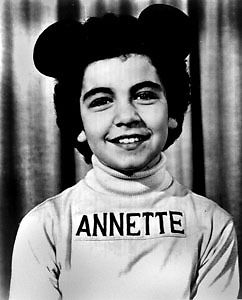 Former Mouseketeer, Annette Funicello