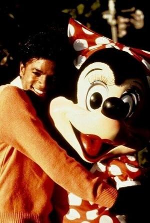 Michael Jackson And Minnie ratón