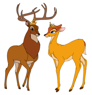 Great Prince Bambi and Great Princess Faline