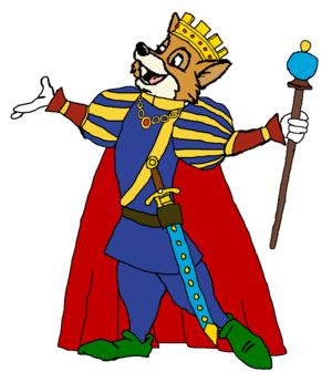 Prince Robin capuche, hotte