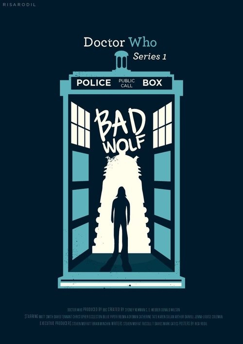 Bad Wolf ! - Doctor Who for Whovians! Fan Art (36272093) - Fanpop