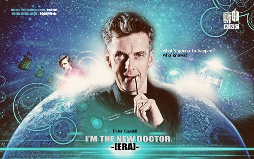 doctor who fondo de pantalla called HELLO, 12TH DOCTOR