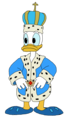 King Donald - Pluto's Tale - donald-duck fan art