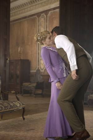 Jonathan Harker and Lucy Westenra