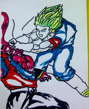 Haha... Funny drawing.