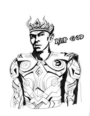 eminem is Odin