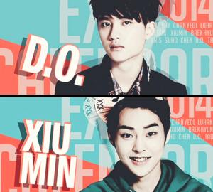 (¸.·¨¯`♥.♥ D.O and Xiumin! (¸.·¨¯`♥.♥