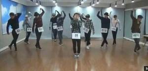 Xmas Dance Practice