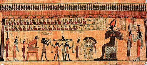 Egypt achtergrond entitled egyptian myths