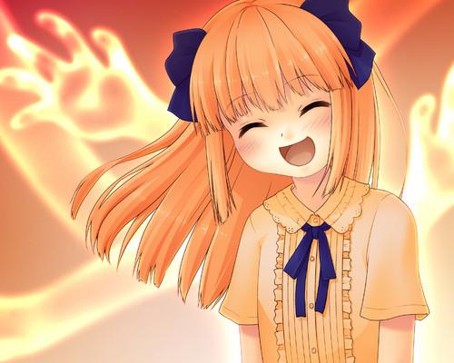 Elfen Lied fondo de pantalla entitled Mariko fan Art