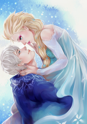 Elsa and Jack fanart