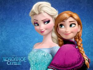 Frozen - Uma Aventura Congelante Russian wallpapers