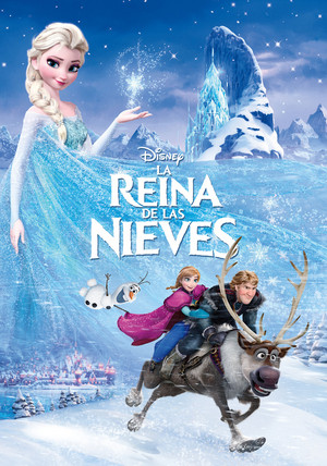 Frozen Edited Spanish Posters