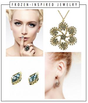 アナと雪の女王 inspired Jewelry