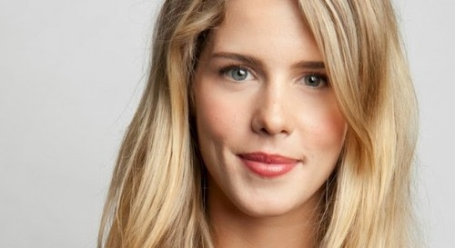Emily Bett Rickards wallpaper containing a portrait and attractiveness entitled Emily Bett Rickards - Portrait (2013.12)