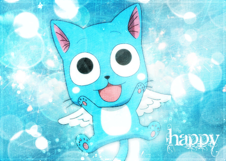 Fairy Tail wallpaper titled Happy - fairy tail