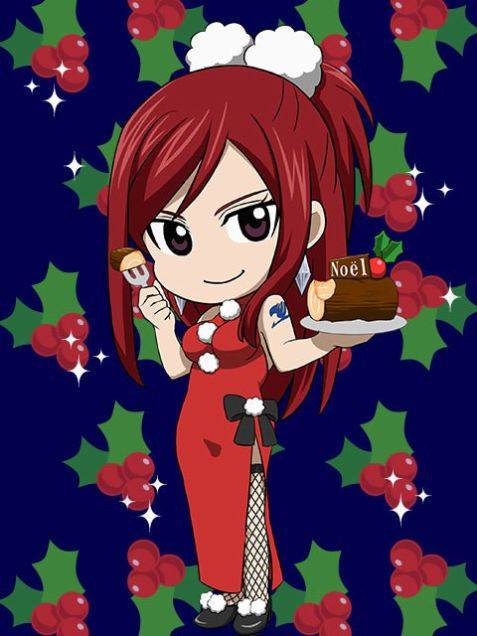 fairy tail anime christmas wallpaper - photo #32