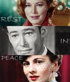Eleanor Parker, Peter O'Toole, Joan Fontaine  - fallen-idols fan art