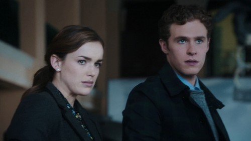 FitzSimmons wallpaper with a business suit and a well dressed person entitled Leo and Jemma