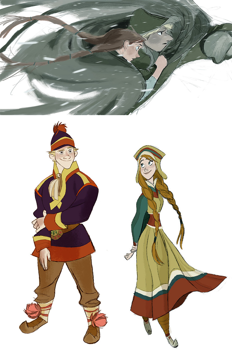 Frozen Early Concept Art - Frozen Photo (36207388) - Fanpop