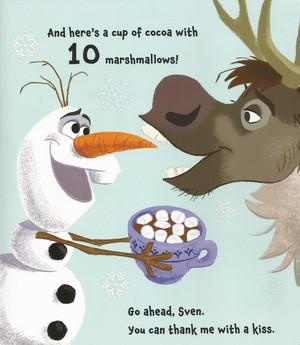 Olaf's 1, 2, 3 book