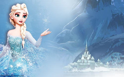 frozen fondo de pantalla entitled queen Elsa