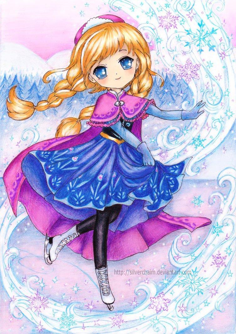 Anna - Frozen Fan Art (36228647) - Fanpop