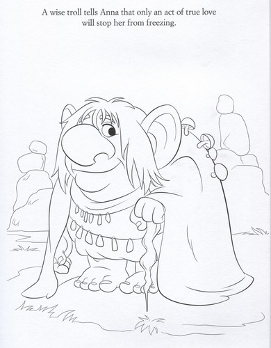online coloring pages frozen trolls - photo#4