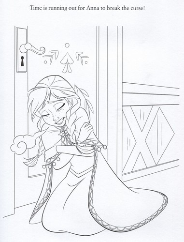 Frozen achtergrond containing anime entitled Official Frozen Illustrations (Coloring Pages)