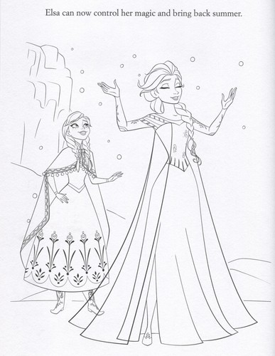 Frozen wallpaper with Anime called Official Frozen Illustrations (Coloring Pages)