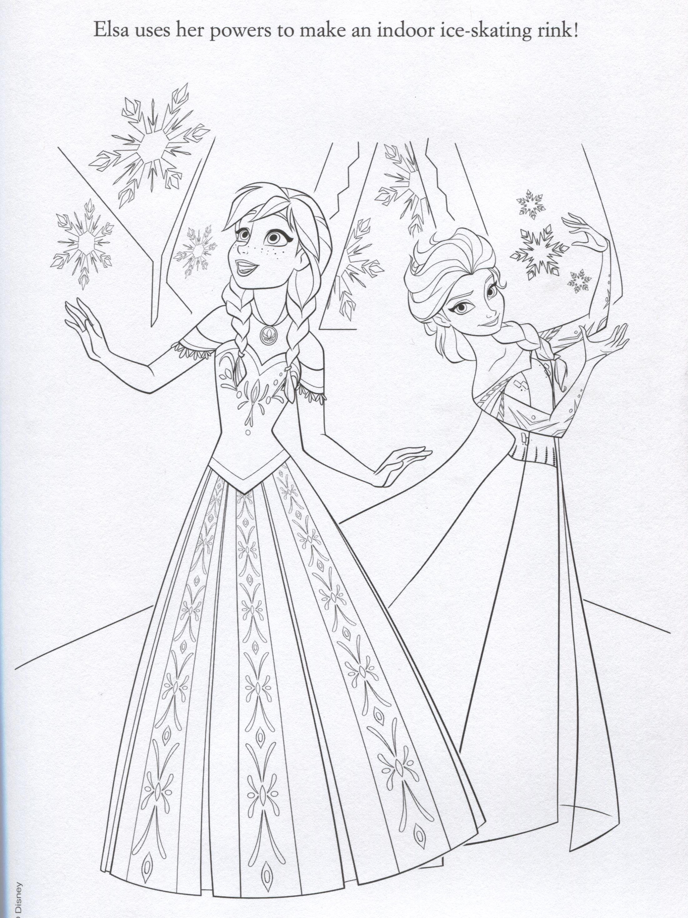 frozen 2 fever coloring pages - photo#34