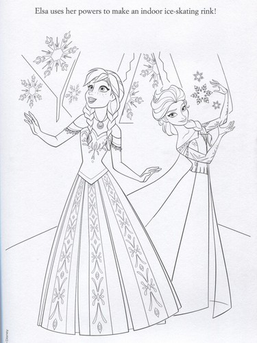 Frozen achtergrond possibly containing anime entitled Official Frozen Illustrations (Coloring Pages)