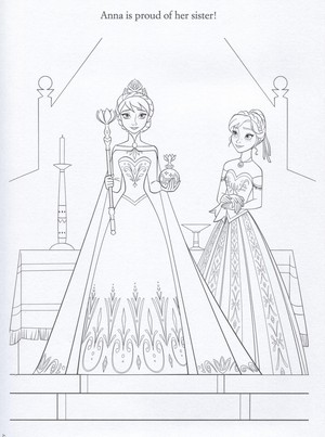 Official Холодное сердце Illustrations (Coloring Pages)