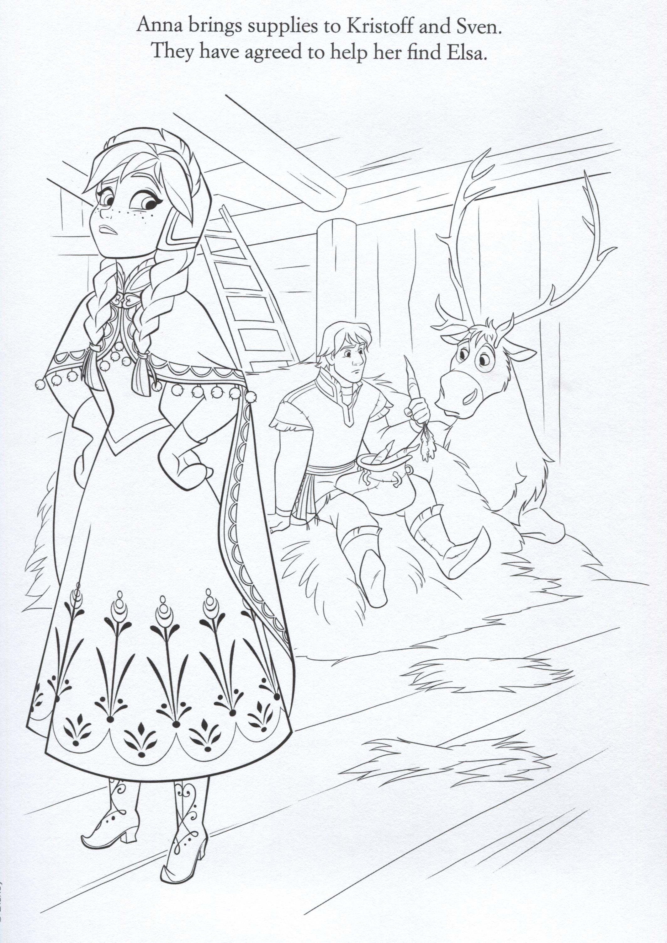 Let It Go Coloring Sheets Coloring